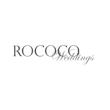 rococo weddings brand
