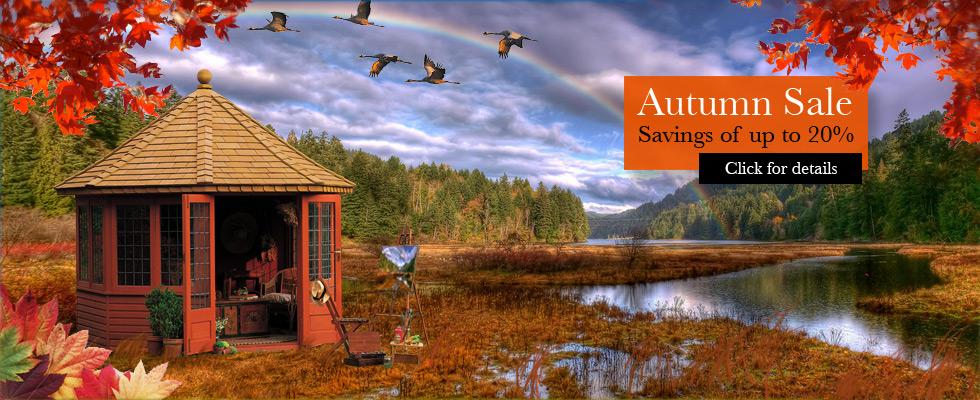 Amdega Summerhouses Website